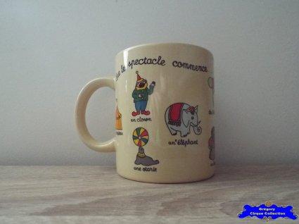Mug du Cirque Gruss (Arlette)