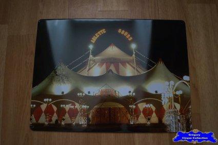 Tôle du Cirque Gruss (Arlette)