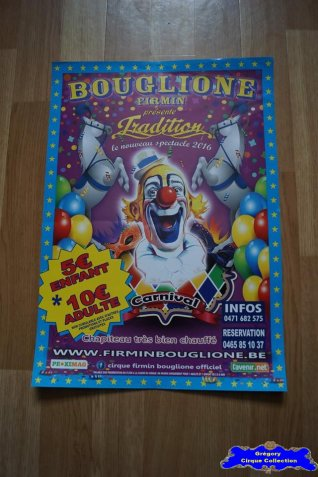 Affiche magasin du Cirque Bouglione (Firmin)-2016 (n°677)