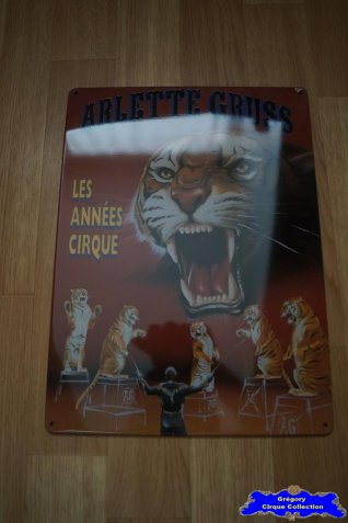 Tôle du Cirque Gruss (Arlette)-1997
