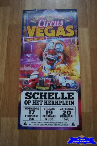 Affiche magasin du Circus Vegas-2016 (n°671)