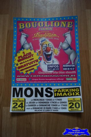 Affiche magasin du Cirque Bouglione (Firmin)-2016 (n°676)