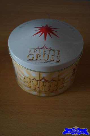Boîte du Cirque Gruss (Arlette)
