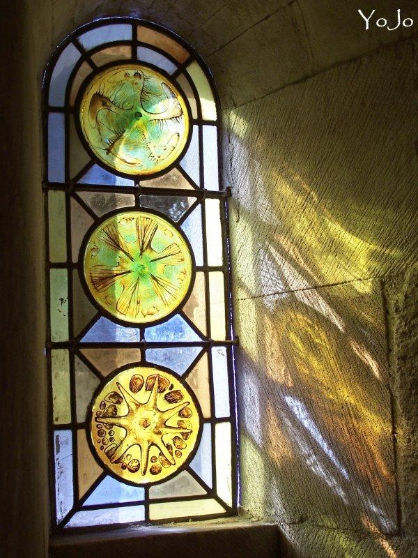 °- Reflets de vitraux -°
