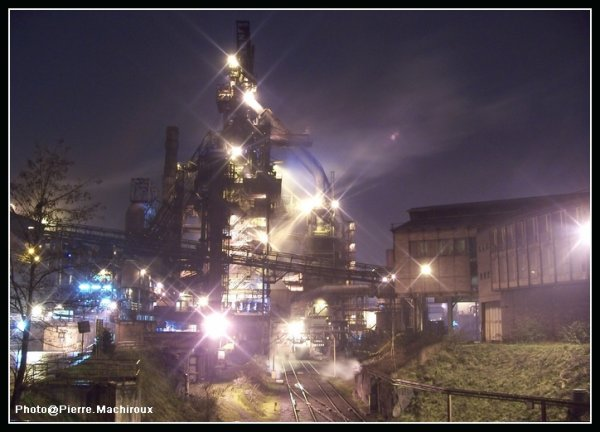 Le HF6 de Seraing vu du stand torpilles