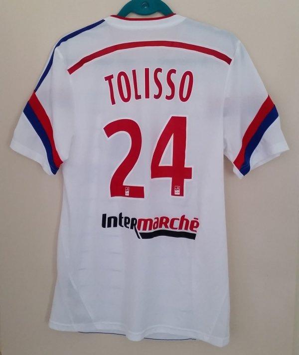 TOLISSO Maillot préparé saison 2014/2015