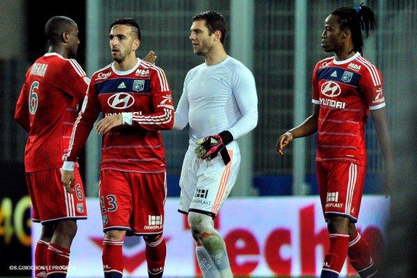 Short Rémy Vercoutre Bastia-OL (08.12.2013)