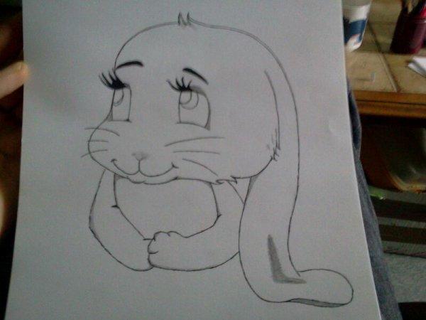 Le lapin de paques un peu en avance :)