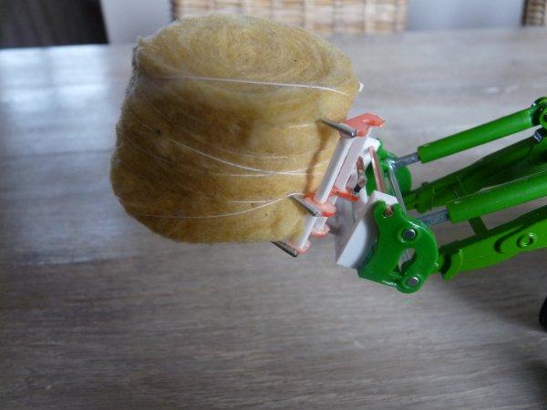 Réalisation d'une pince à balles rondes pour le chargeur