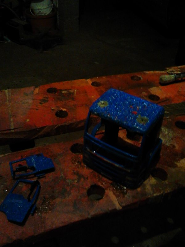 Réalisation d'une ampiroll sur base de camion MAN