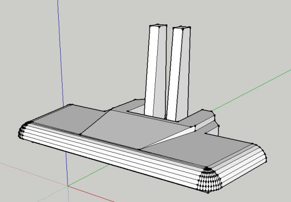 Réalisation de la masse à l'imprimante 3D