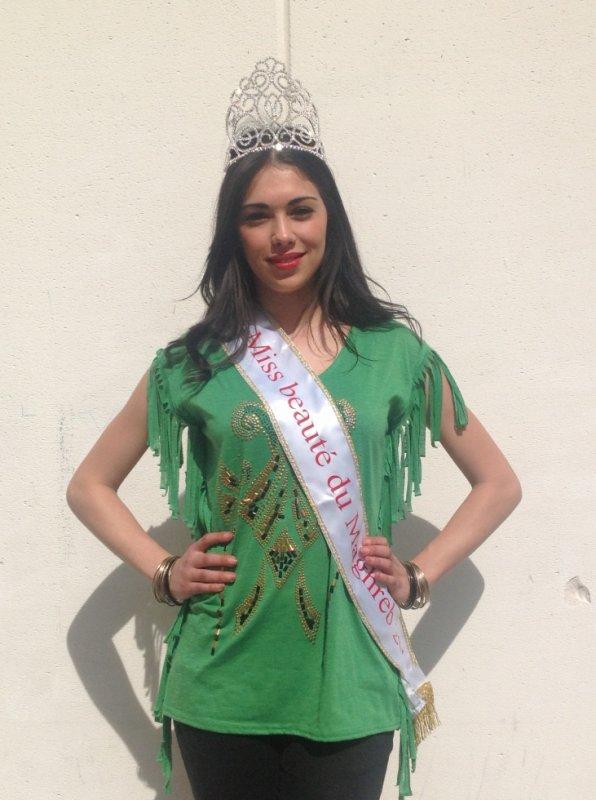 la Miss Beauté du Maghreb 2013