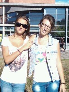 Avec la soeur *.*