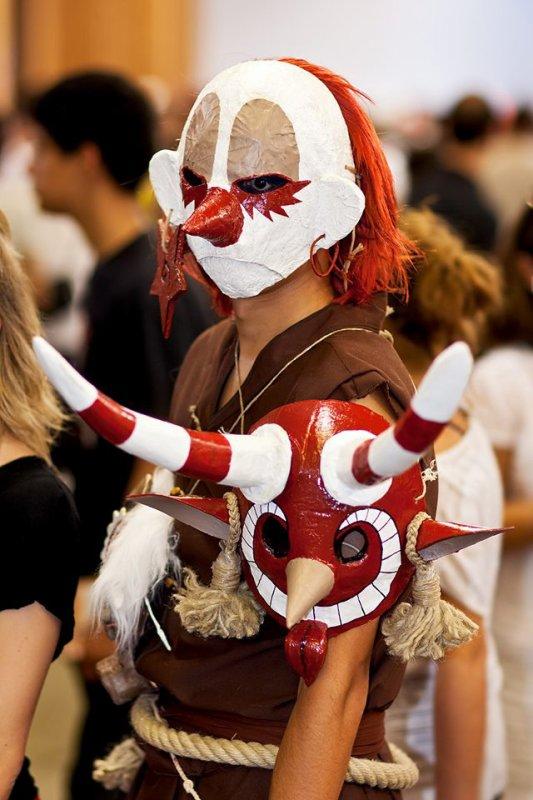 Excellent cosplay d'un zobal vraiment chapeau pour son créateur!!