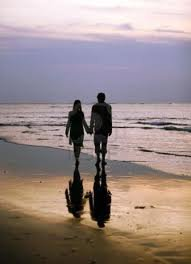 quand on nage dans le bonheur il vaut mieux rester là oú on n'a pied