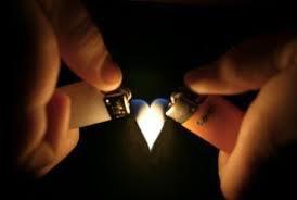 parce que entre nous il y aura toujours la flamme de l'amour