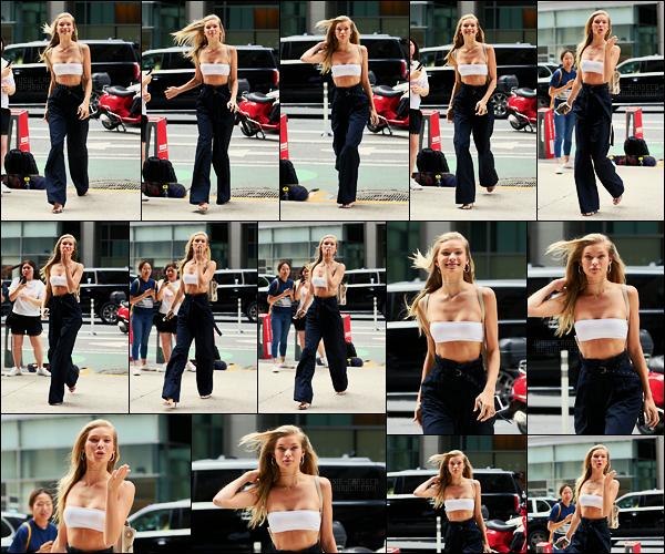 21/08/17 - Josie Canseco  a été vue arrivant au casting de la célébre marque Victoria's Secret dans N-Y.