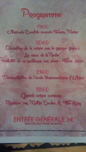 Soirée Campera 2017