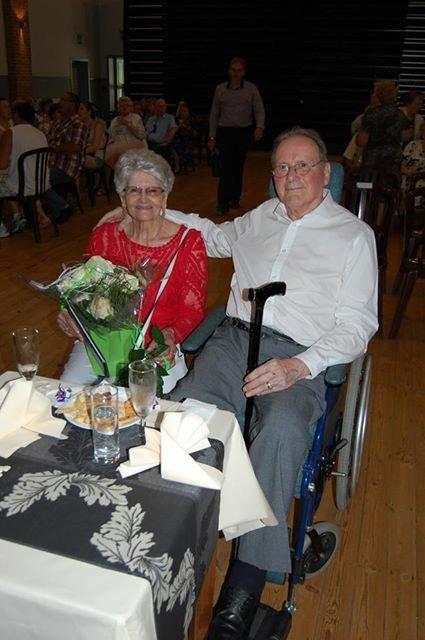 Notre anniversaire de mariage le 5 juillet  60 ans