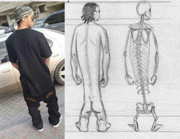 Quand je vois la déguaine vestimentaire de certains je me pose des questions sur leur morphologie lollll