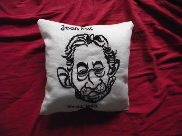 Coussin serge gainsbourg