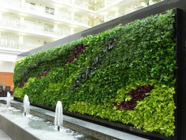 Awesome ... Vertical Wall Planters CFI WP03 Best Way To Make Your Own Living Wall