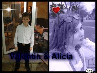 Valentin & Alicia...Une amitier qui va durer!♥