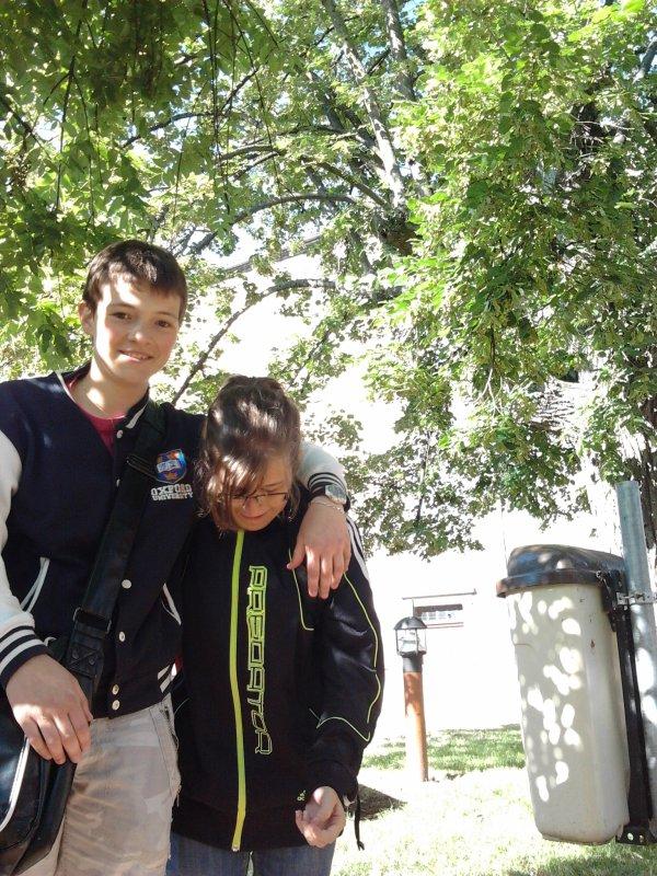 Mél' et moi :)