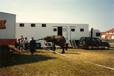 convoi     YOK  BAUER  ET SON  ELEPHANT  1996