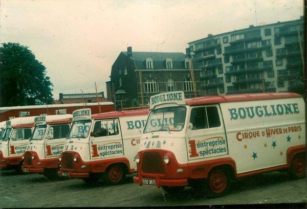 RETRO  BOUGLIONE   1979  service publicite