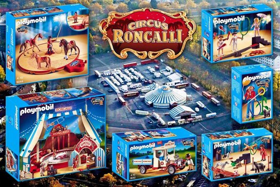 CIRCUS RONCALLI  SERIE PLAYMOBIL  2016  ALLEMAGNE