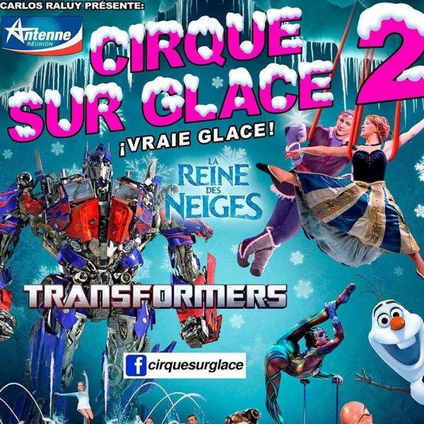 CIRQUE SUR GLACE  RALUY  2018 LA REUNON
