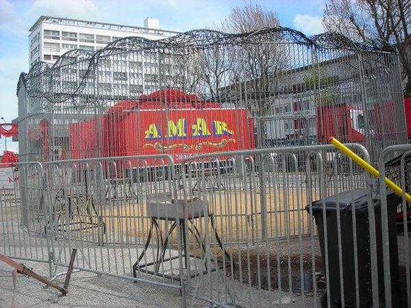 AMAR FALCK CALAIS 2012 cage entrainement