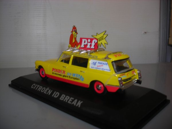 COLLECTION VEHICULES CITROEN ID BREAK PINDER 3