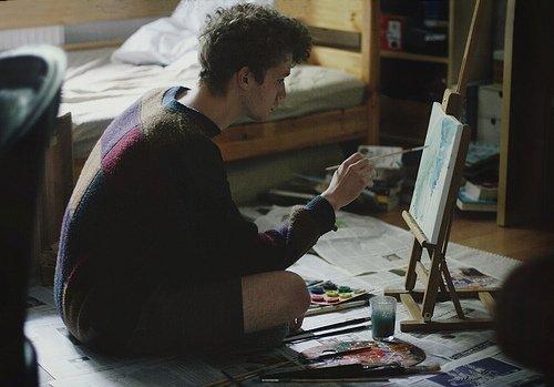 Ma vie c'est moi qui vais la peindre, alors je vais y mettre le feu en ajoutant plein de couleurs.