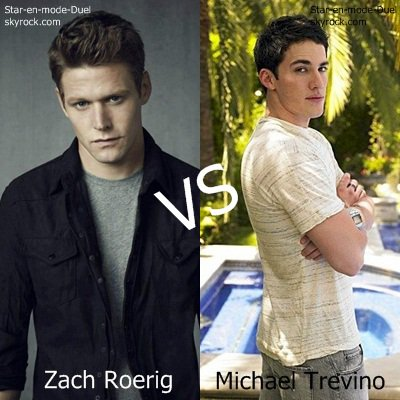 Zach VS Michael