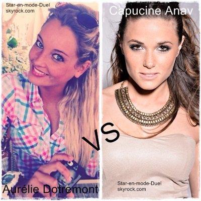 Aurélie Dotremont VS Capucine Anav