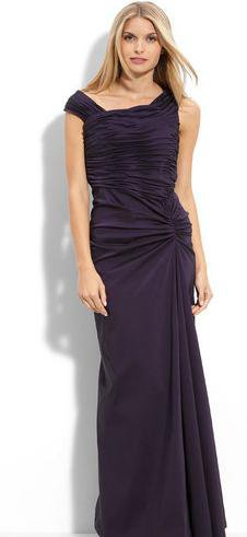 Purple Wedding Mother Dress