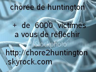 La choree d'huntington ou maladie de huntington