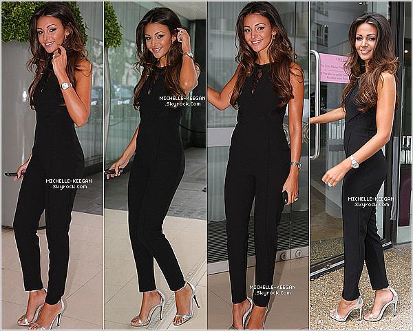 05/08/14 : Michelle à Londres pour  sa nouvelle ligne de vêtement  by Lipsy au Sanderson Hôtel.