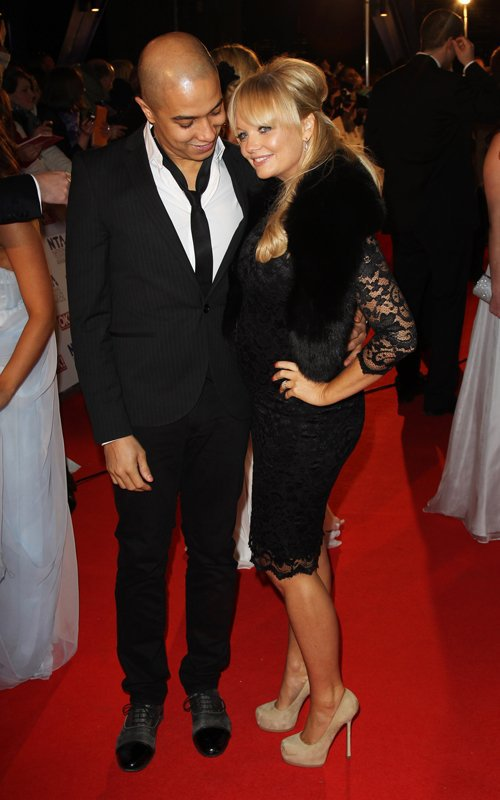 Emma Bunton & Jade Jones - National Television Awards - London - 26.01.2011