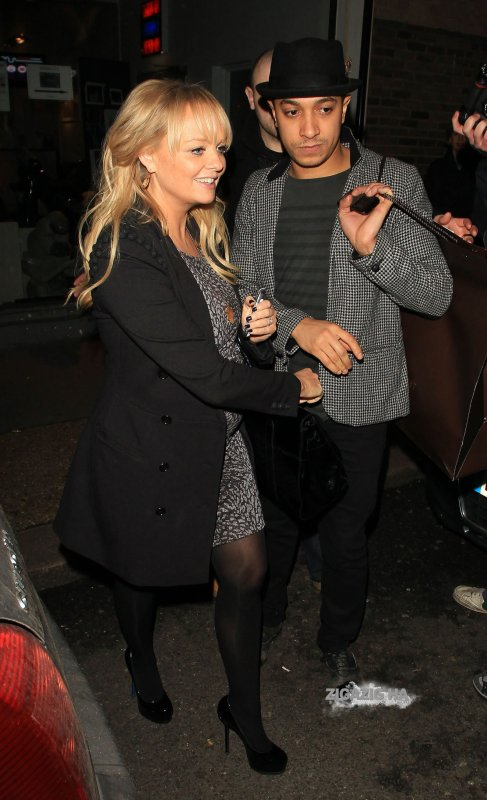 Emma Bunton & Jade Jones - London - 16.02.2011