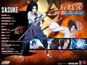 info du sasuke
