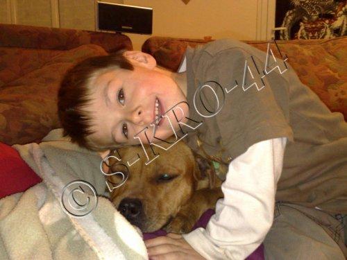 Notre fils avec Duffy