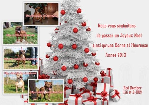 Joyeuses Fêtes de fin d'année à tous et toutes