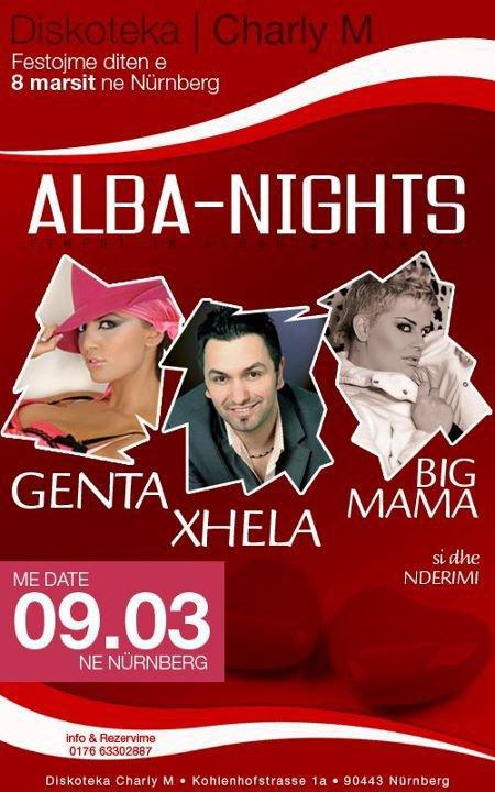 Genta Ismajli - Koncert ne Nürnberg, Gjermani - 09.03.2012