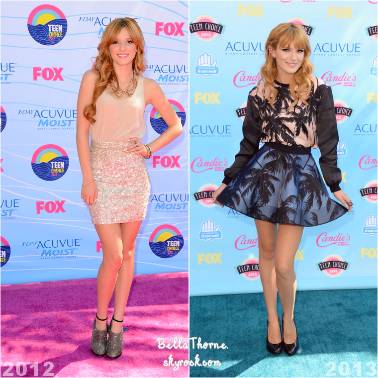 Quelle tenue portée par Bella aux Teen Choice Awards est selon toi la plus réussie ?