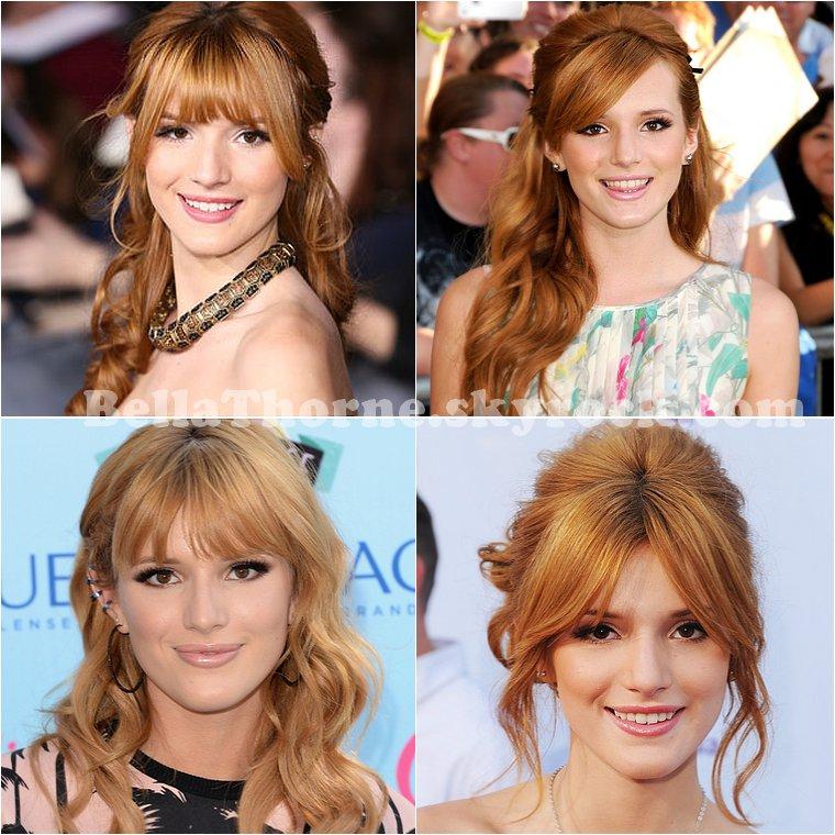 QUELLE EST LA PLUS BELLE COIFFURE  PORTÉE PAR BELLA THORNE PARMIS CETTE SÉLECTION ?     Après avoir voté pour la piiiire coiffure portée par Bella, place à celle qui vous plaira le plus (eh oui ici on commence par le pire et on termine par le meilleur). Je vous ai sélectionné quelques-unes des meilleures coiffures de Miss Thorne, à vous de me dire laquelle vous préférez !
