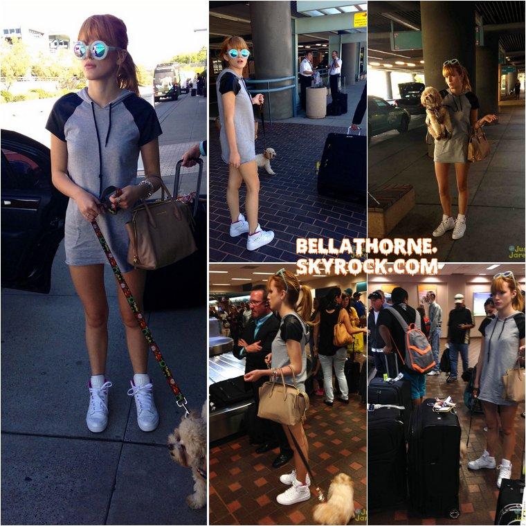 Le 13 octobre 2013, Bella a été aperçue alors qu'elle arrivait à l'aéroport d'Albuquerque au Nouveau Mexique (aux Etats-Unis). Elle s'y rend pour le tournage de son prochain film ... Car oui, Bella a (encore) décroché un nouveau rôle ! Selon le site américain Deadline, elle figurera dans le thriller « Big Sky ». Elle incarnera une jeune fille nommée Hazel, tandis que l'actrice Kyra Sedgwick jouera sa mère, Dee. Le tournage du film se déroulera à Albuquerque, c'est donc pour cela que Bella s'y est rendue !