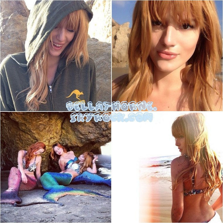 Le 4 novembre 2013, Bella et ses s½urs Dani et Kaili ont fait un photoshoot pour Project Mermaids (un projet d'exposition de photos qui aura lieu l'été prochain sur le thème de l'océan et des sirènes).